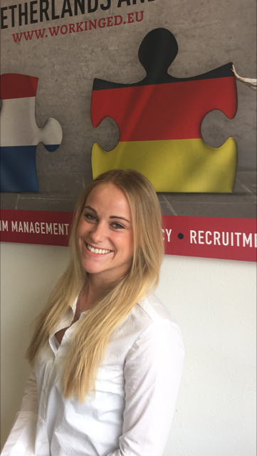 BREAKING NEWS: May Eicker joins our recruitment team.