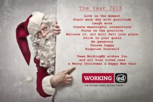 Team WorkingED wishes you a Merry Christmas & Happy New Year